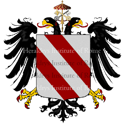 Coat of Arms of family Pallaga
