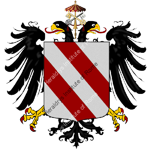 Coat of Arms of family Pallaria