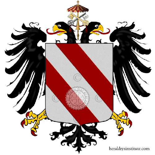 Coat of Arms of family Spalla