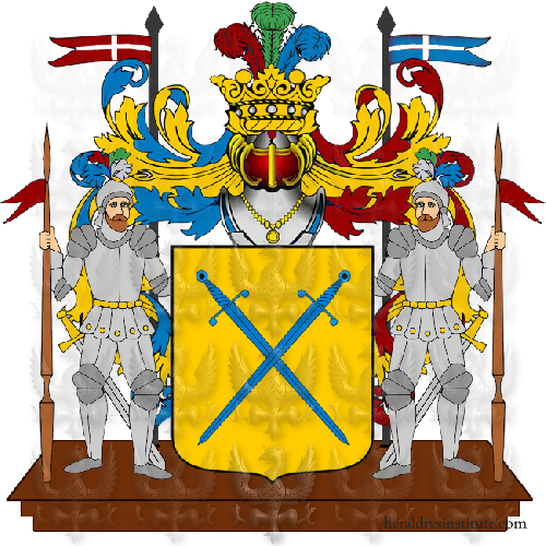 Coat of Arms of family Spadia