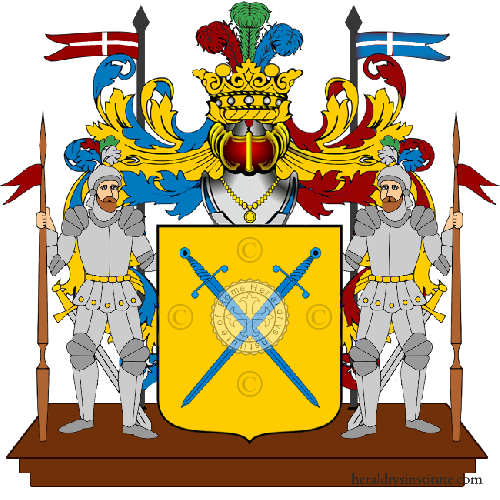 Coat of Arms of family Spadino