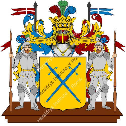 Coat of Arms of family TURIZIO