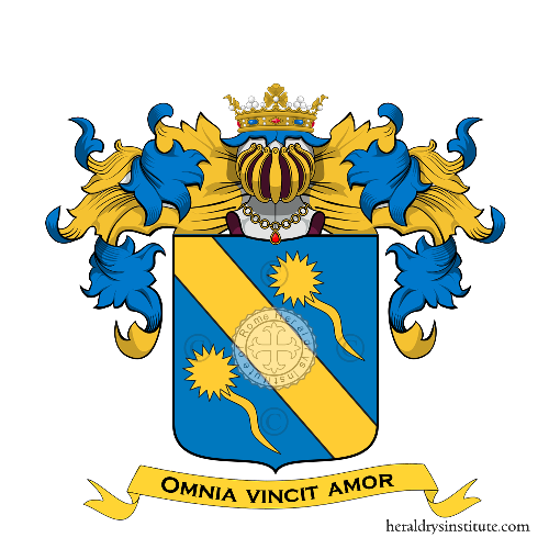 Coat of Arms of family Santaroni