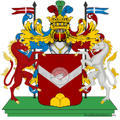 Coat of arms of family Diloni
