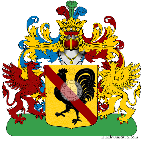 Coat of Arms of family Tanevini