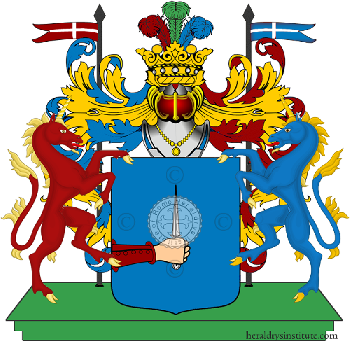 Coat of Arms of family Torsani