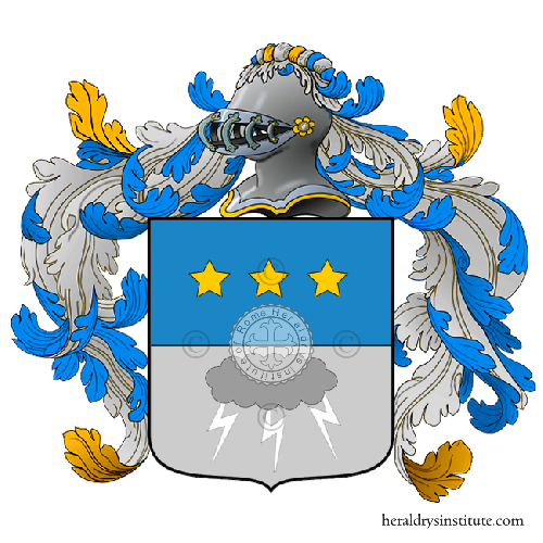 Coat of Arms of family Sfolgori