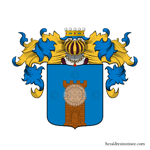 Coat of Arms of family Zavanio