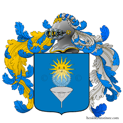 Coat of Arms of family Virdia