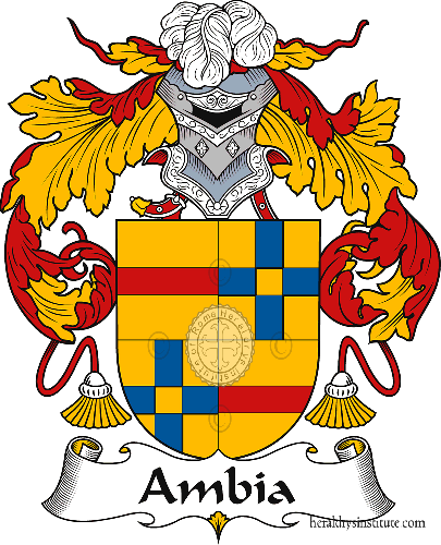 Coat of arms of family Ambia