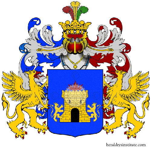 Coat of Arms of family Valmonte