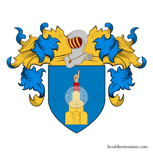 Coat of Arms of family Vergara