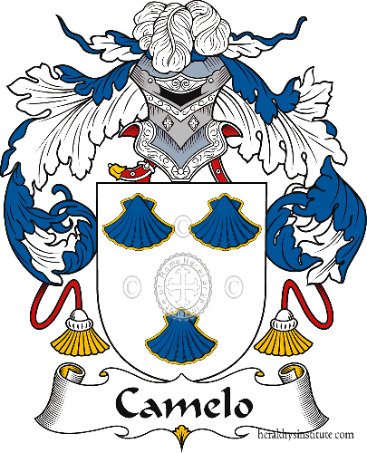 Coat of arms of family Camelo