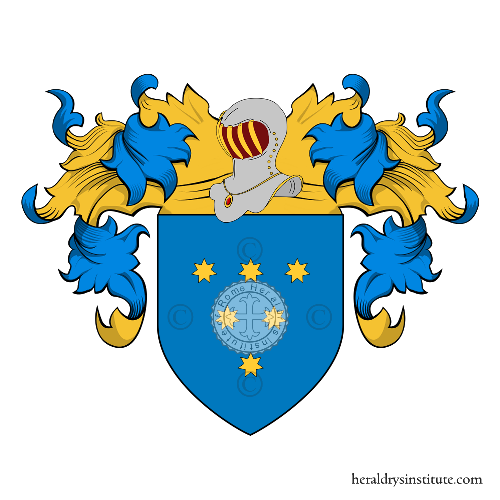 Coat of arms of family Delle Fratte