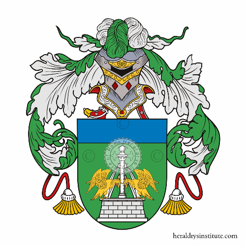Coat of arms of family Fontana