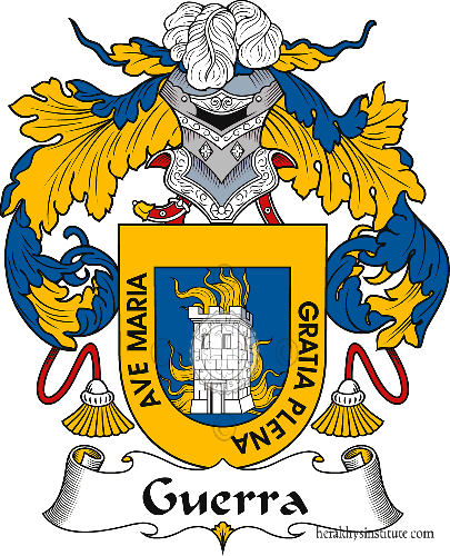 Coat of arms of family Guerra
