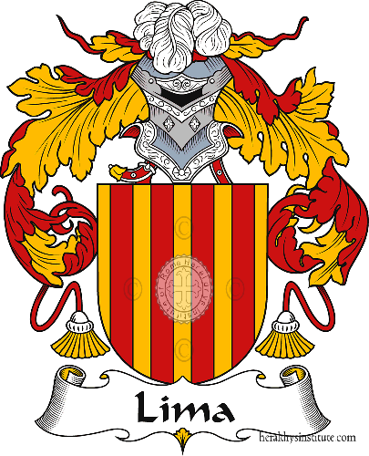 Coat of arms of family Lima