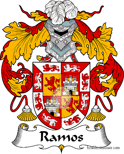Ramos family, heraldry, genealogy, Coat of arms and last