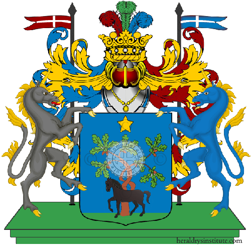 Coat of Arms of family Trontini