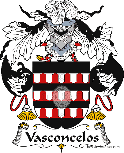 Coat of arms of family Vasconcelos