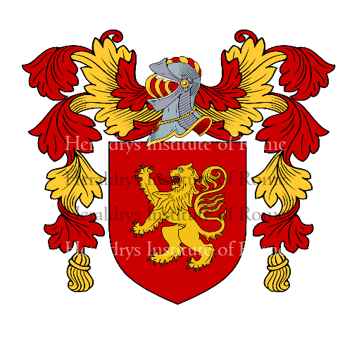 Coat of arms of family Talao