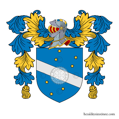 Coat of arms of family Caromani o Veneziani