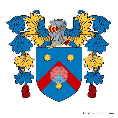 Coat of arms of family Sprani