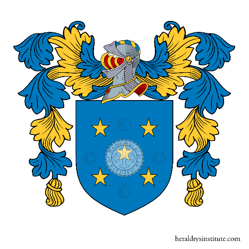 Coat of arms of family Bandera