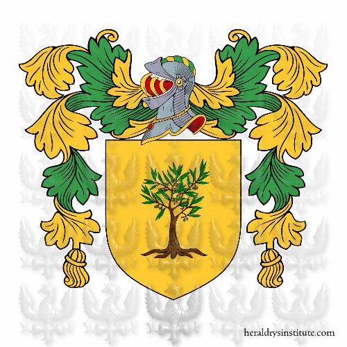 Coat of arms of family Pinchia