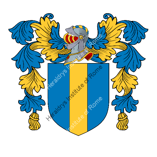 Coat of arms of family Vigne