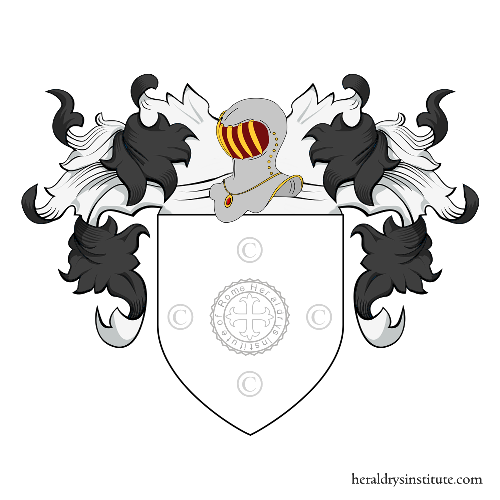 Coat of arms of family Rovano