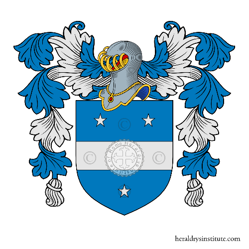 Coat of arms of family Guerci