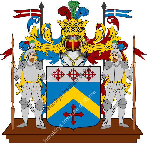 Coat of Arms of family SOLAND