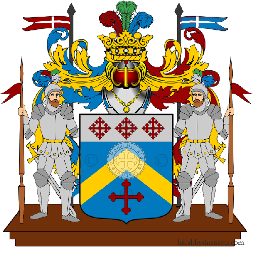 Coat of Arms of family Soussane