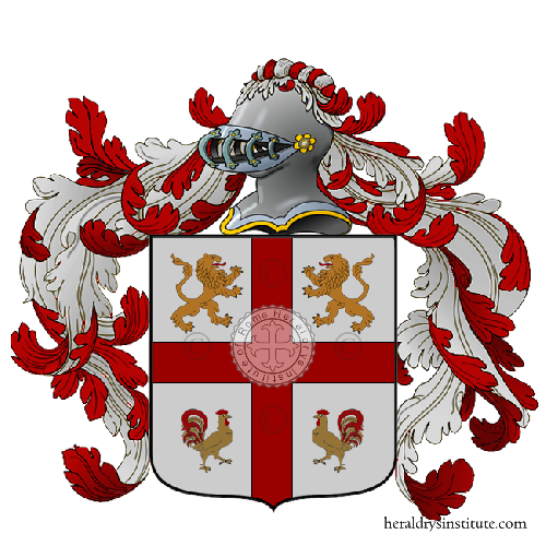 Coat of Arms of family Papiano