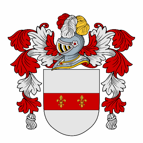 Coat of arms of family Miramontes