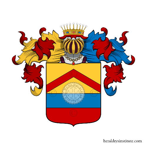 Coat of Arms of family Sacerdotti