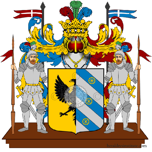 Coat of Arms of family Sansalvo