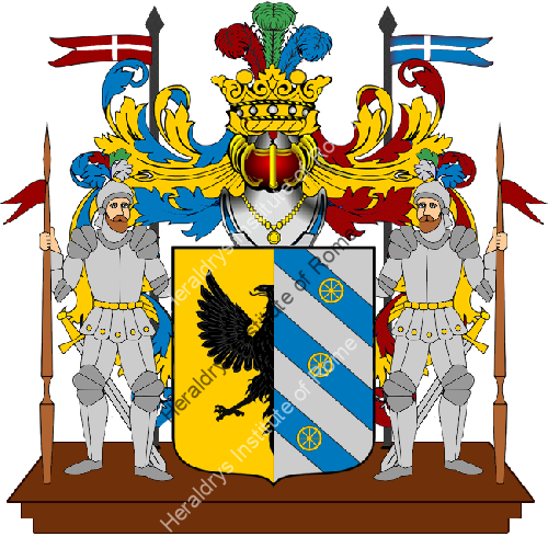 Coat of Arms of family Saradini