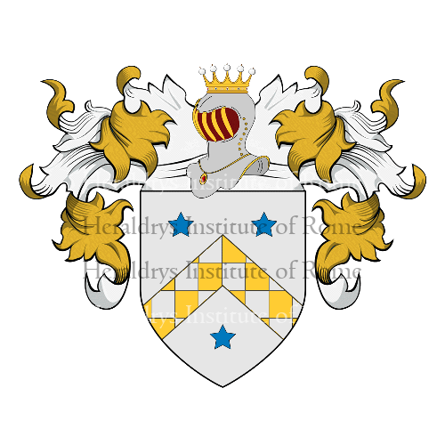Coat of arms of family Rossacci