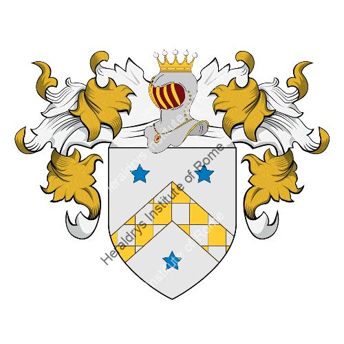 Coat of arms of family Rossettani