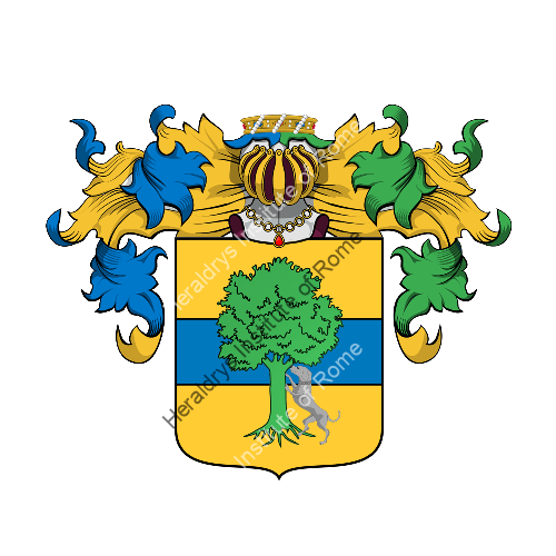 Coat of Arms of family Derbino