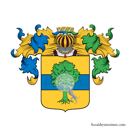 Coat of Arms of family Tilia