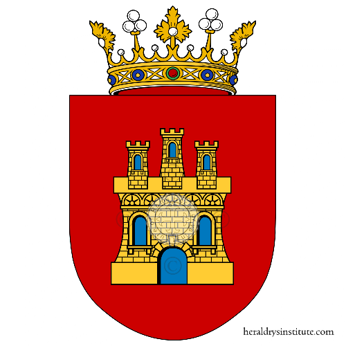 Coat of arms of family Castella