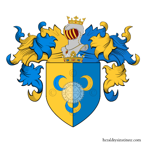 Coat of Arms of family Dughini