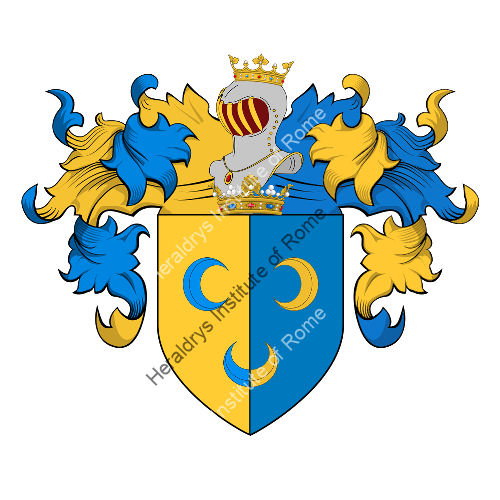 Coat of Arms of family Ughini