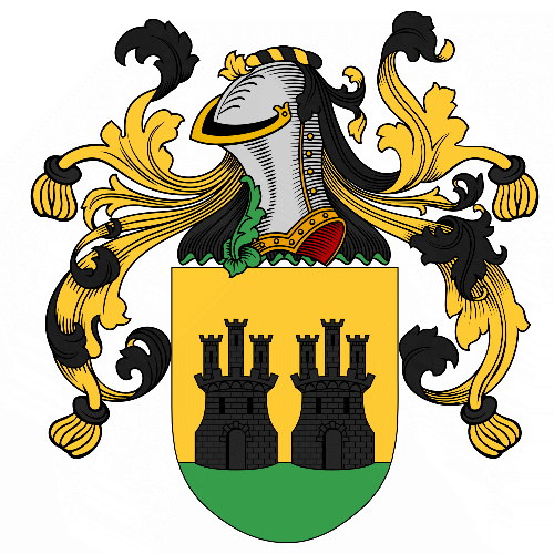 Coat of arms of family Avello