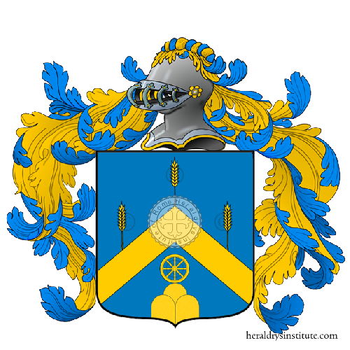 Coat of Arms of family Giacomin