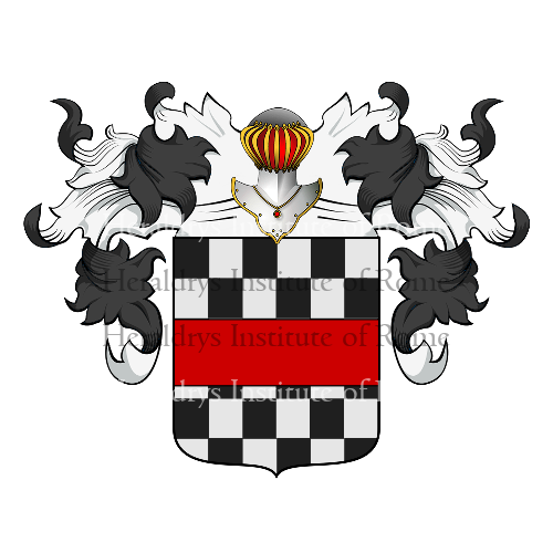 Coat of Arms of family Giffenni