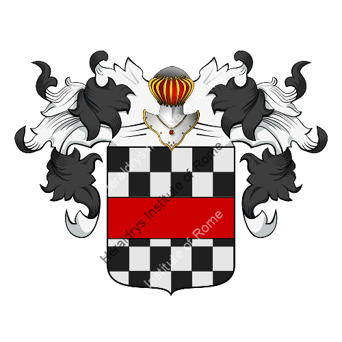 Coat of Arms of family Giffone